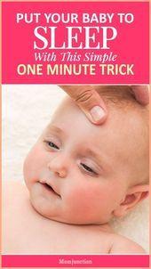 Legen Sie Ihr Baby mit diesem einfachen One-Minute-Trick in den Schlaf.   – uncategorized