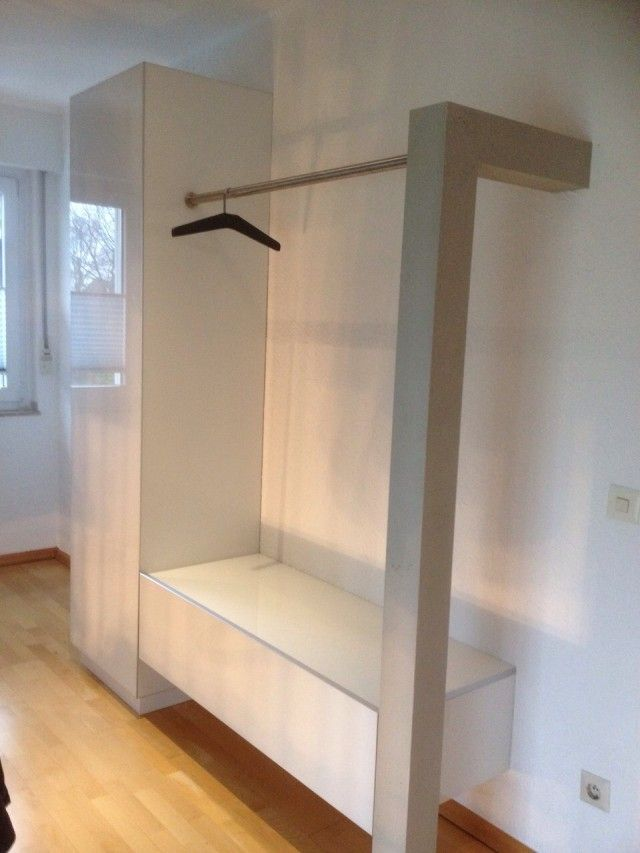 design garderobe weiss l einrichtung exklusiv wohnideen pinterest lofts. Black Bedroom Furniture Sets. Home Design Ideas