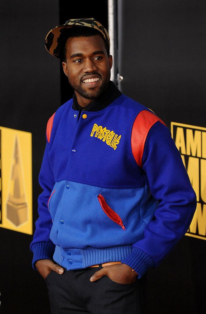 Is Pastelle Kanye West S Lost Clothing Line Making A Comeback Kanye West Outfits Lost Clothing Varsity Bomber Jacket