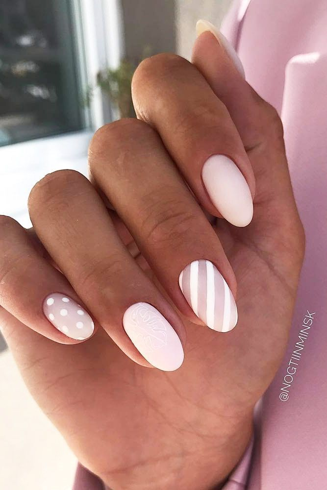 120 Special Summer Nail Designs For Exceptional Look Trendy Nails Nail Designs Summer Striped Nails