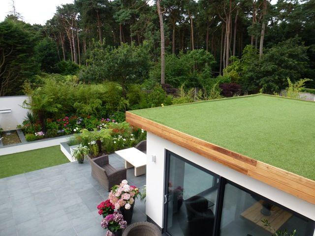 Nomow Roof Terrace Artificialgrass Nomow Grass Roof Green Roof House Pergola Plans