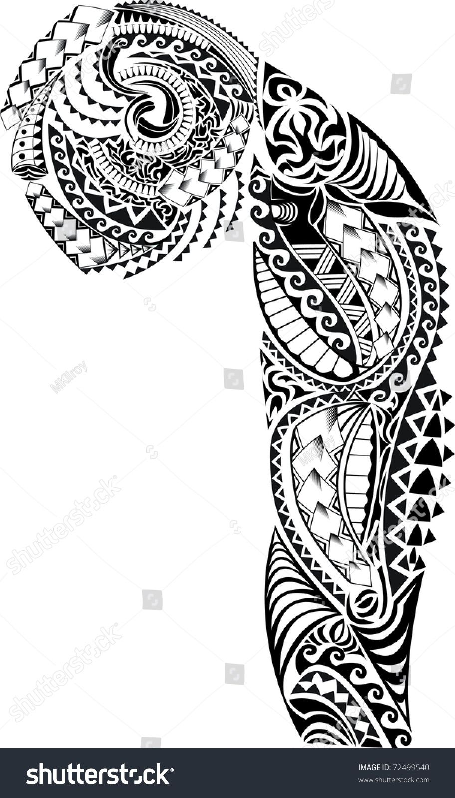 , Tribal-Arm-Brust Tattoo Stockillustration 72499540, My Tattoo Blog 2020, My Tattoo Blog 2020