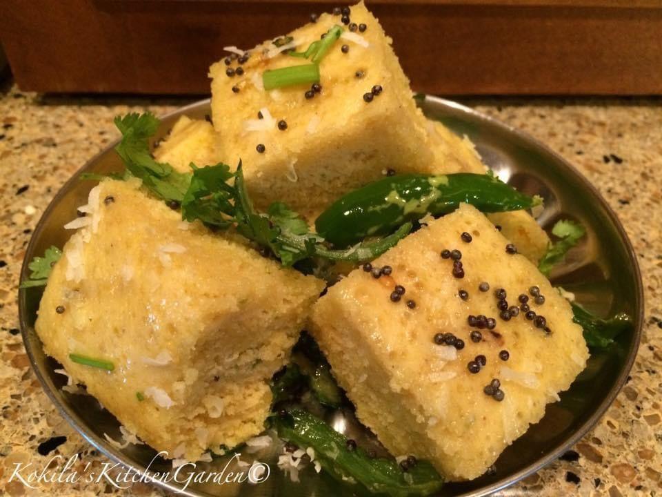 In The Kitchen Khaman Dhokla Dhokla Chutney
