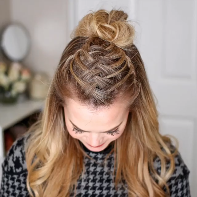Braided Hairstyle Video Hairstyletutorials Hey Girls Today We Are Going To Ta Braided Hair In 2020 Braids For Long Hair Hair Tutorials Easy Braided Hairstyles