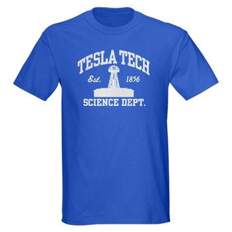 Di Tesla Donne Tecnologia Maglietta Scura ZlefV10M