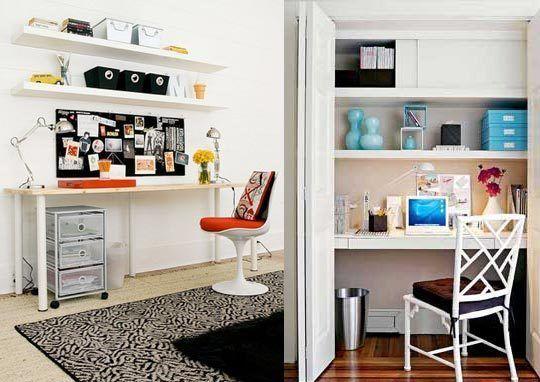 How To De Clutter Your Desk In 4 Easy Steps Ikea Lack Wall Shelf Desk Organization Diy Ikea Lack Shelves