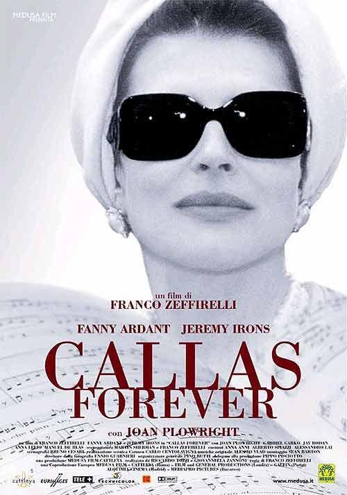 French diva plays Greek diva in Italian film - Zefirelli  2002....Fanny Ardant...