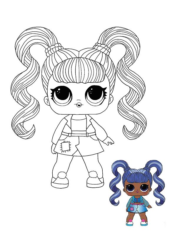 Lol Surprise Hairvibes Jelly Jam Coloring Page Cool Coloring Pages Coloring Pages Lol Dolls