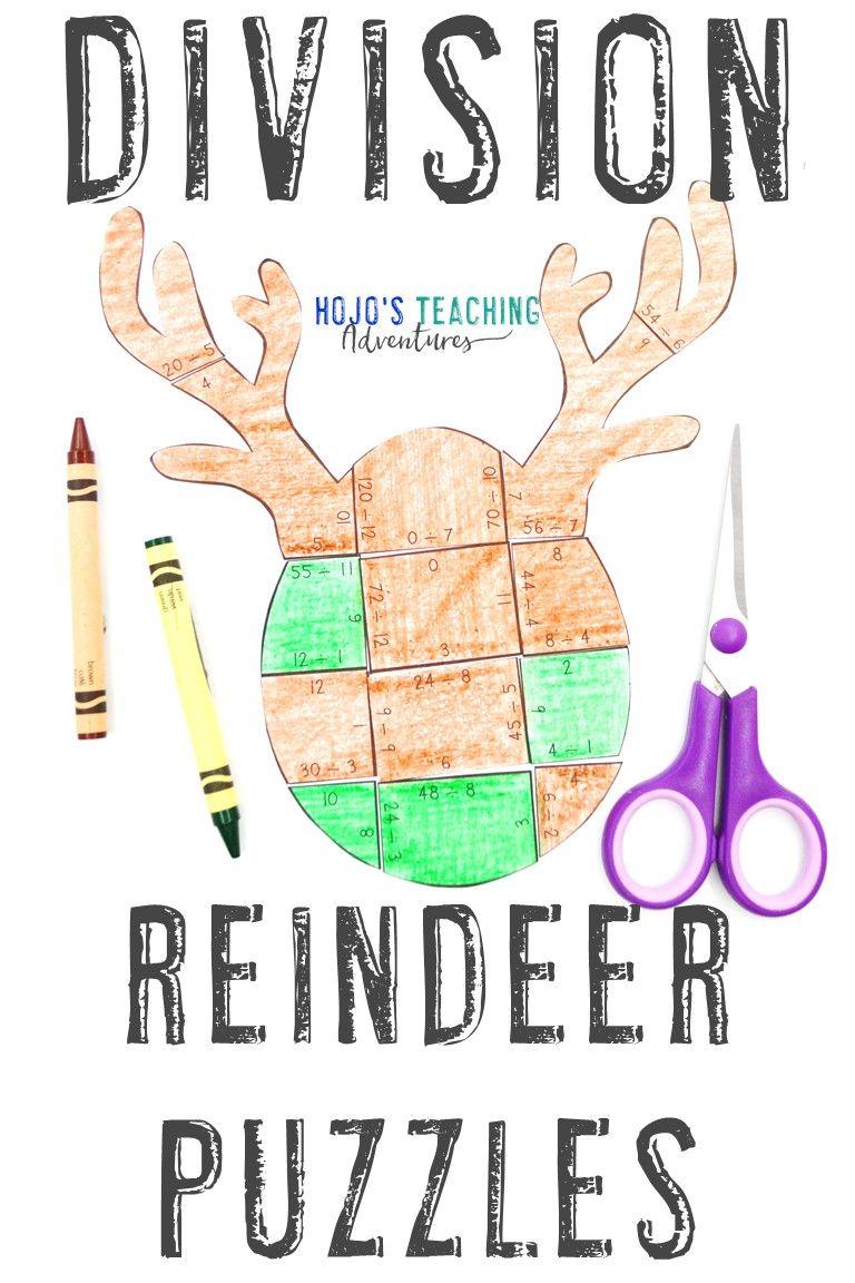Reindeer Activities For Kids Great Book Ideas Hojo S Teaching Adventures Llc Teaching Adventure Upper Elementary Math Basic Math Skills [ 1152 x 768 Pixel ]