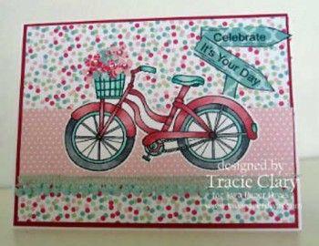 Vintage Bike! - Two Paper Divas