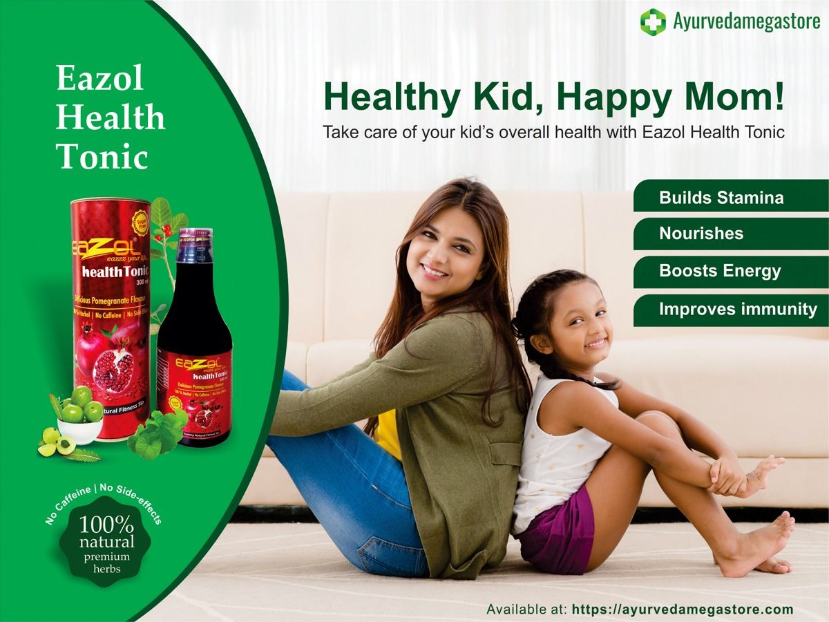 Take Care Of Your Kid S Overall Health With Eazol Health