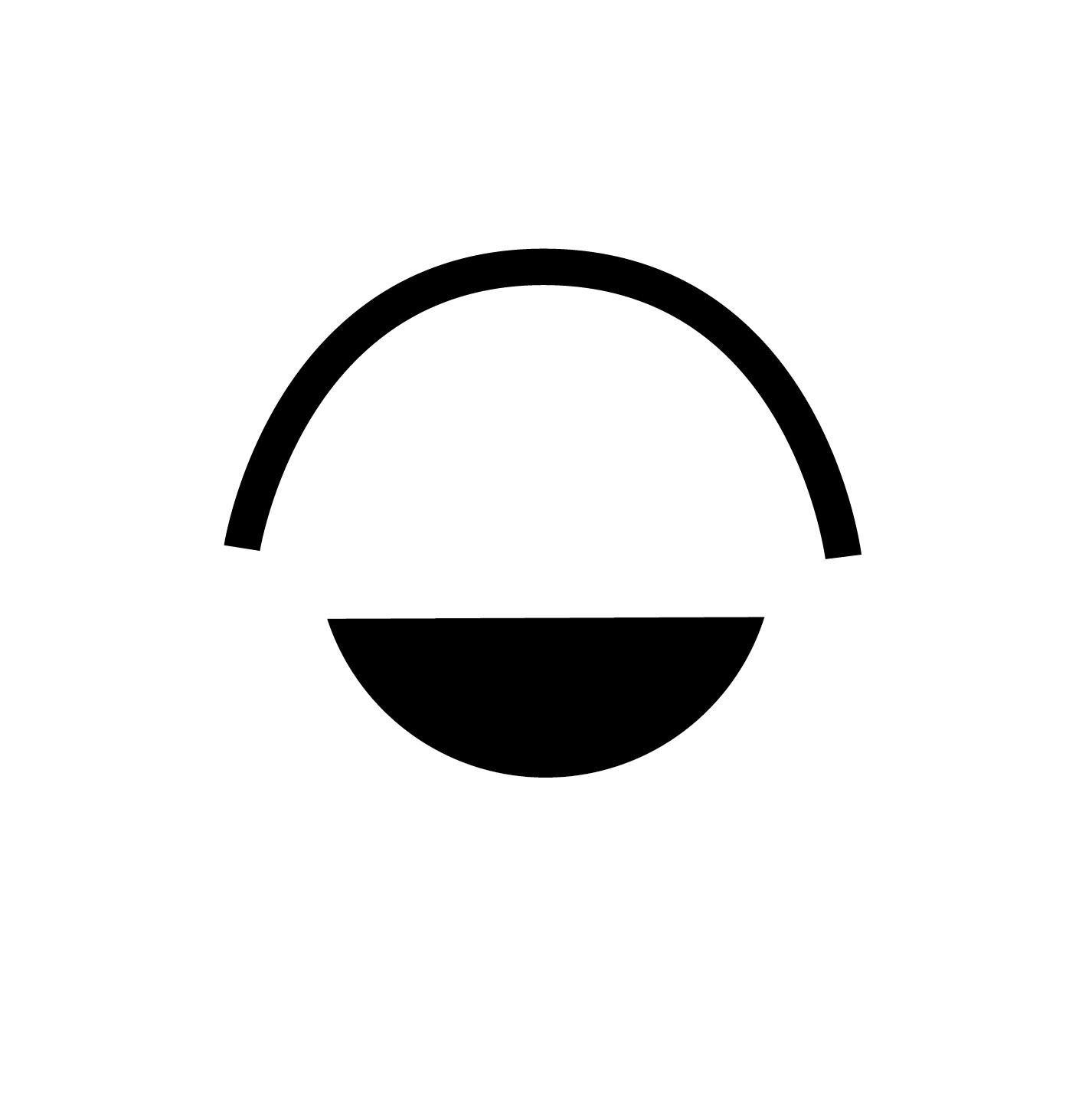 Free Letterheads Sunset Eye Circle D Half Contrast Circle Symbol Circle Eye Logo