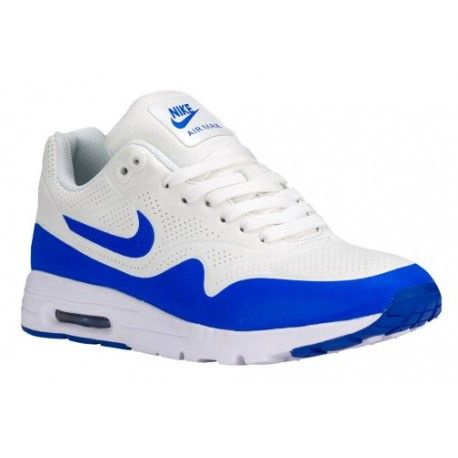detailed look 38ce6 7ea4b Nike Air Max 1 Ultra - Women s - Running - Shoes - Summit White Racer Blue White-sku 04995100  in 2019   Cheap Nike Shoes for sale cheap-nike   Pinterest ...