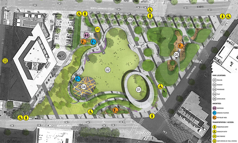 Pin By Hsiang Chuan Ou On Master Plan In 2020 Public Park Design Parking Design Landscape Design Plans