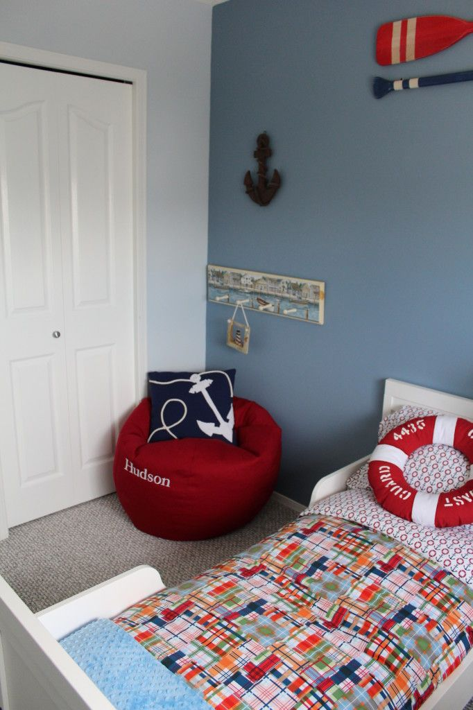 Boys Nautical Room In The Process Guest Room Decor Big Kids