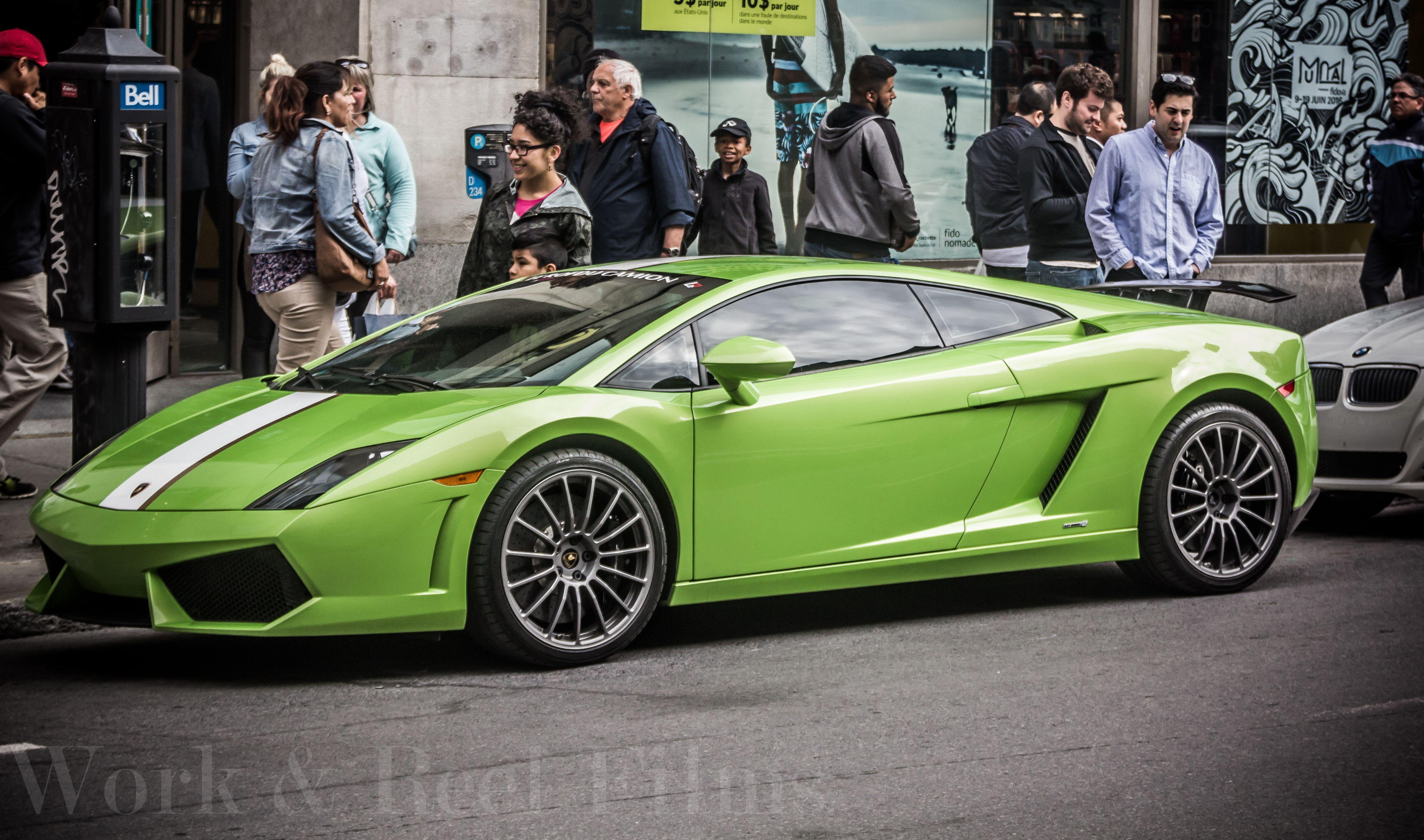 Lamborghini Gallardo Grand Prix Montreal Events