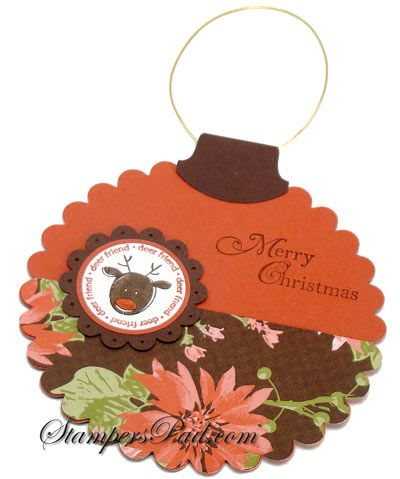 gift card holder stampin up
