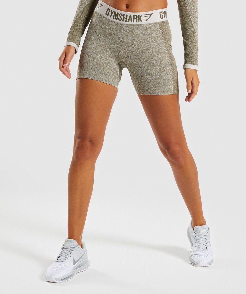 Gymshark Flex Shorts Khaki/Sand 1 in 2019 Workout