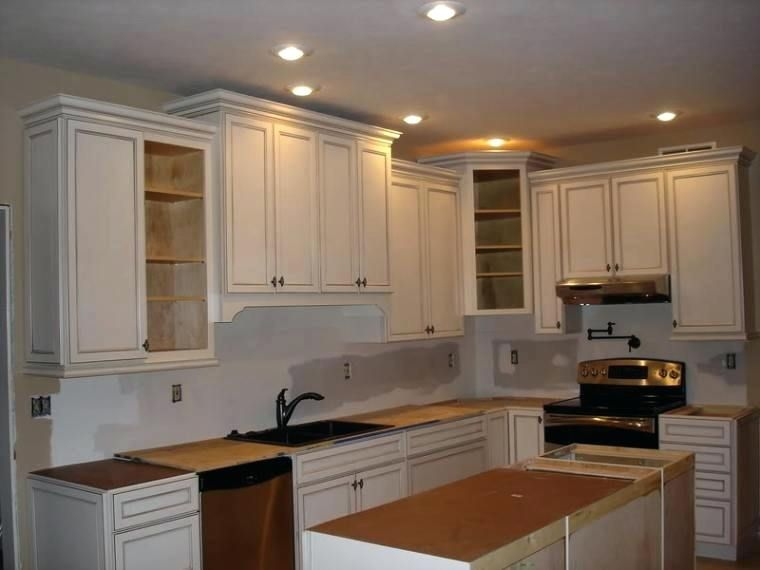 42 Inch Cabinets 8 Foot Ceiling Google Search Kitchen Cabinets Without Crown Molding Small Kitchen Wall Cabinet Kitchen Wall Cabinets