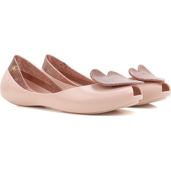 Zapatos rosas Melissa para mujer 0cEq3
