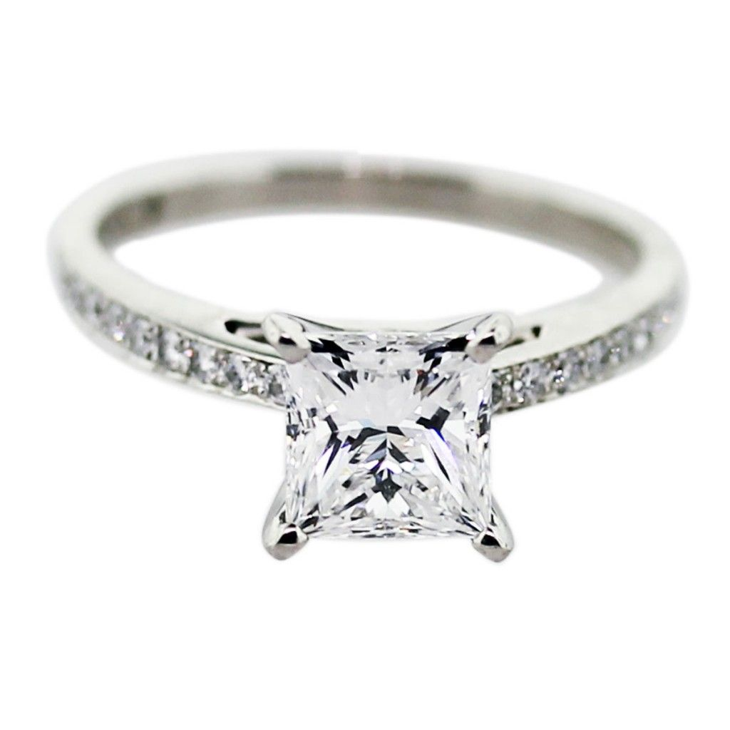 Perfect Princess cut engagement princess cut diamond engagement rings