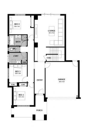 Double Story House Plans Upside Down House Designs Reverse Living House Plans Seabreeze Mojo Homes