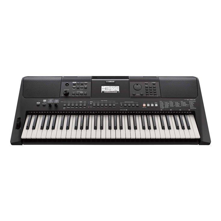 Yamaha Psr E463 Portable Keyboard With Sk D2 Survival Kit Yamaha Keyboard Portable Keyboard Keyboard Piano