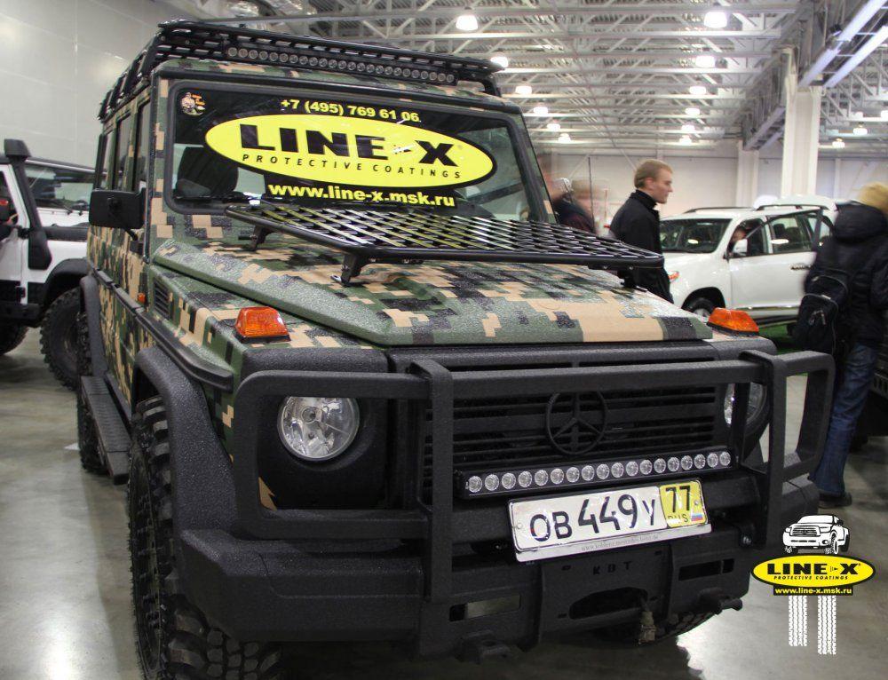 Mercedes linex camo perfect combo linex body
