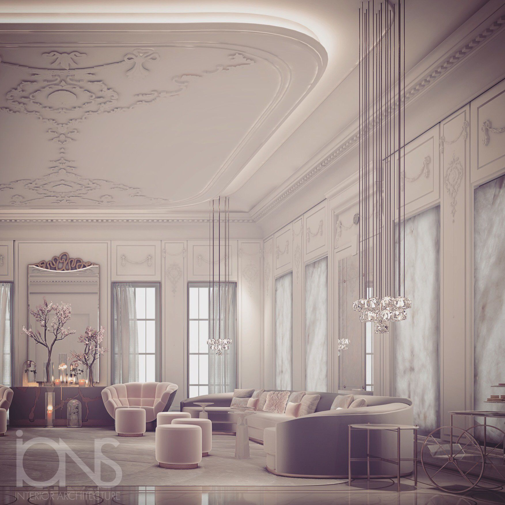 Ions Interior Design Dubai majlis design by ions (with images) | classic interior