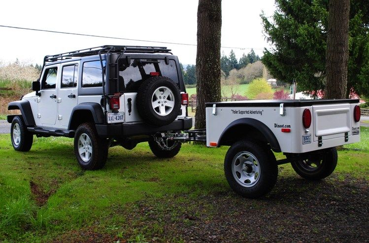 Excellent Jeep Wrangler Towing Camping Trailer Httpwww4wdandsportutilitycom