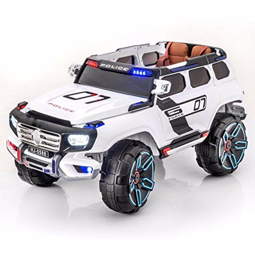 Premium Police Edition 12V Battery Powered Ride On Electr