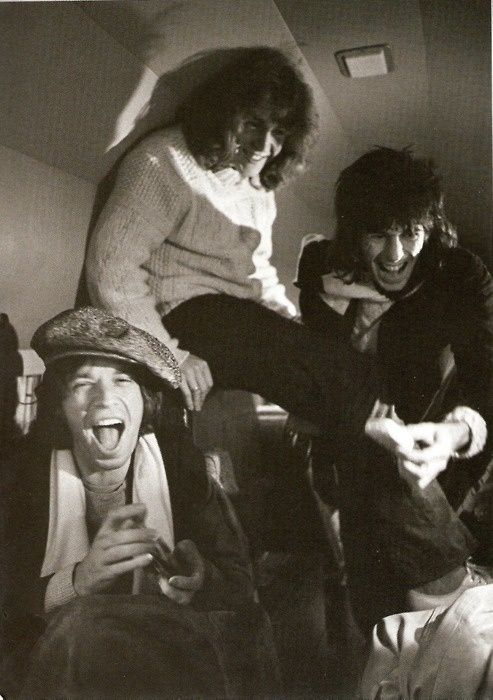 Mick Jagger, Mick Taylor, and Keith Richards