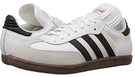 fa803ef23e0df Amazon: Adidas Performance Men's Samba Classic Indoor Soccer Shoe ...
