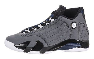 5590970ec Nike Air Jordan 14 XIV Retro Graphite Mens 311832-011 Grey Navy Shoes Size  10.5