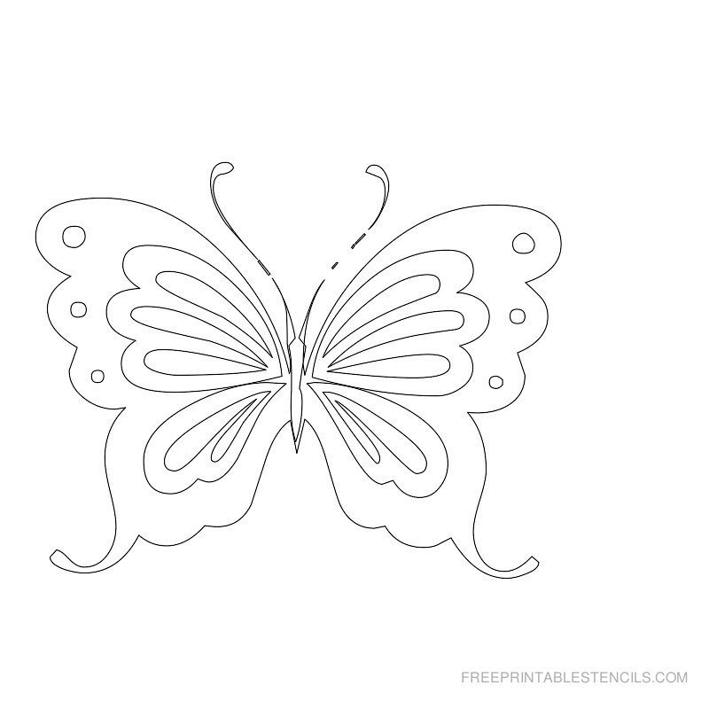 image regarding Free Printable Stencils to Cut Out known as Totally free Slash Out Alphabet Stencils Free of charge Printable Butterfly