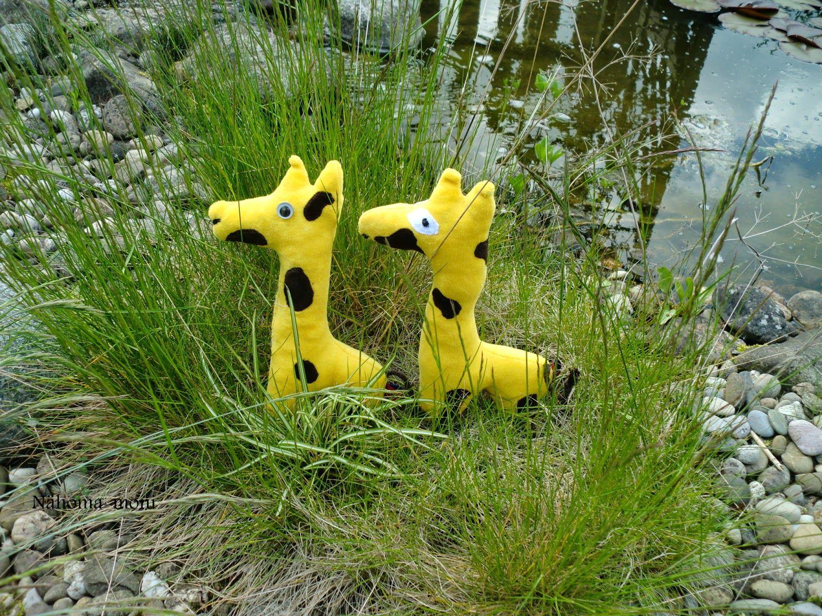 Giraffe ein kostenloses Schnittmuster zum herunterladen
