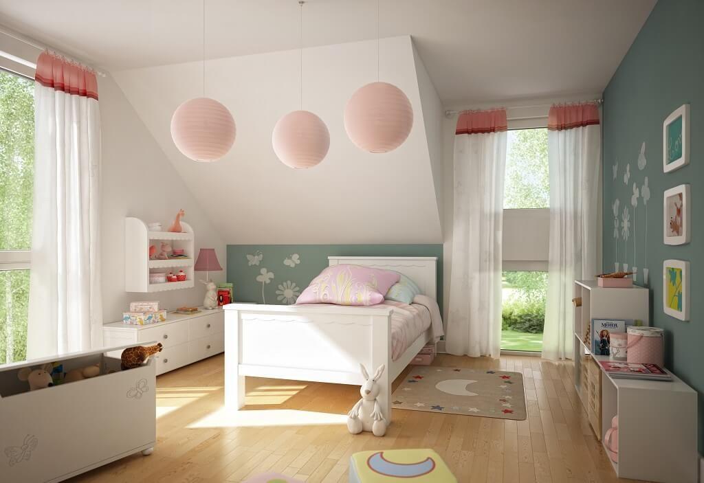 Modernes Kinderzimmer - Inneneinrichtung Haus Celebration 137 V3 - inneneinrichtung