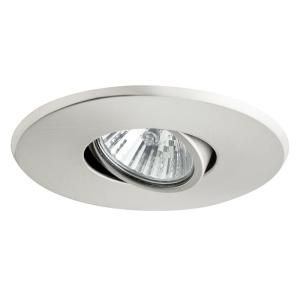Globe Electric 4 In Brushed Nickel Recessed Lighting Kit 10 Pack 90542 The Home Depot Globe Electric Recessed Lighting Kits Recessed Lighting