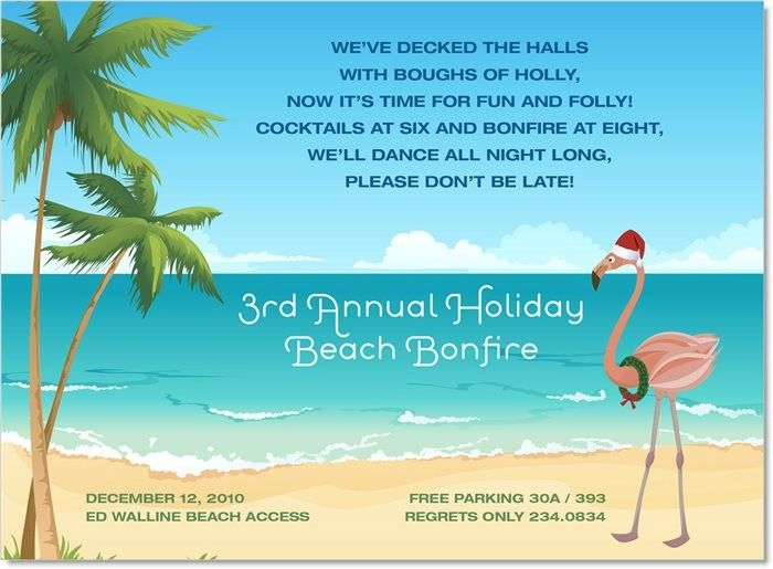 tropical holiday invitations by noteworthy collections invitation