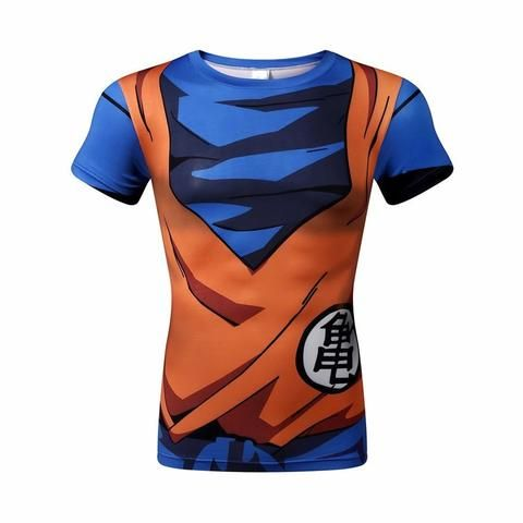 Run Breathable Men T Short Casual Male Summer Beach Fitness Quick Dry 3d Print Dragon Ball Anime Funny Board Shorts Zootop Bear Making Things Convenient For Customers Men's Clothing