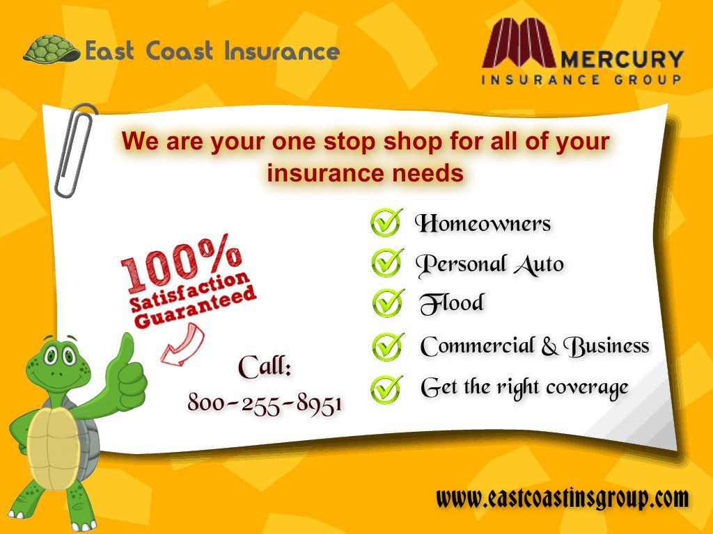East Coast Insurance Lines Of Business Group Insurance Mercury
