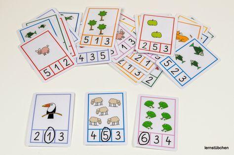 Mengen und Zahlen.... | Grundschule | Pinterest | Kindergarten, Math ...