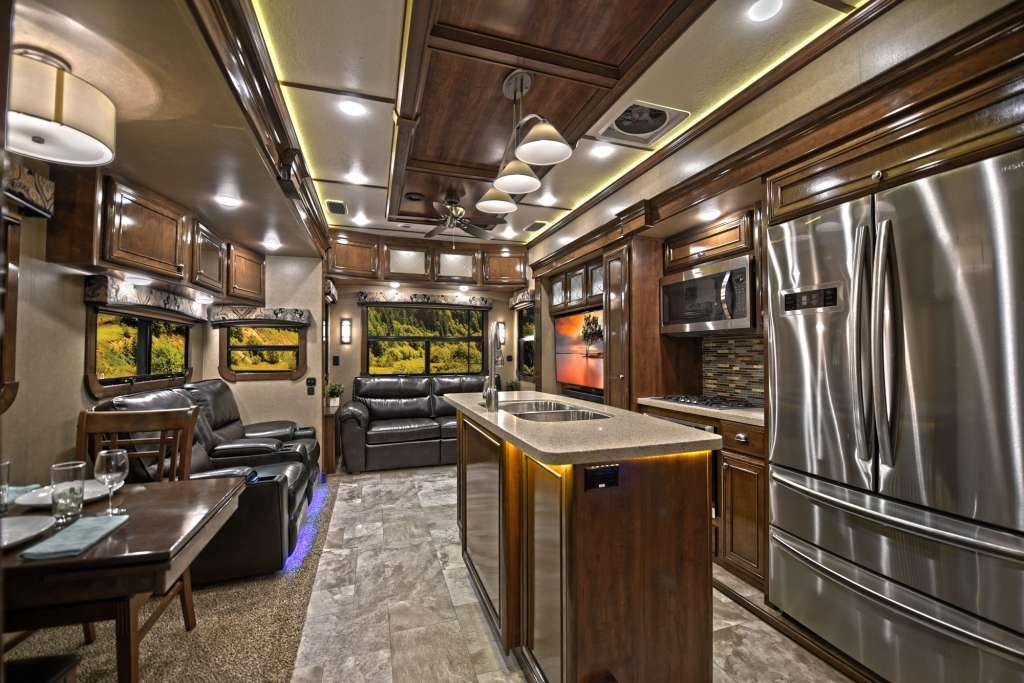 Redwood Rv Full Time Residential Fifth Wheels Rw 3881es Front