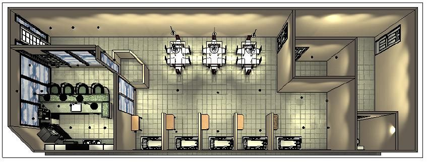 Birds eye view of perk n pooch floor plan 2012 perk n for Grooming shop floor plans
