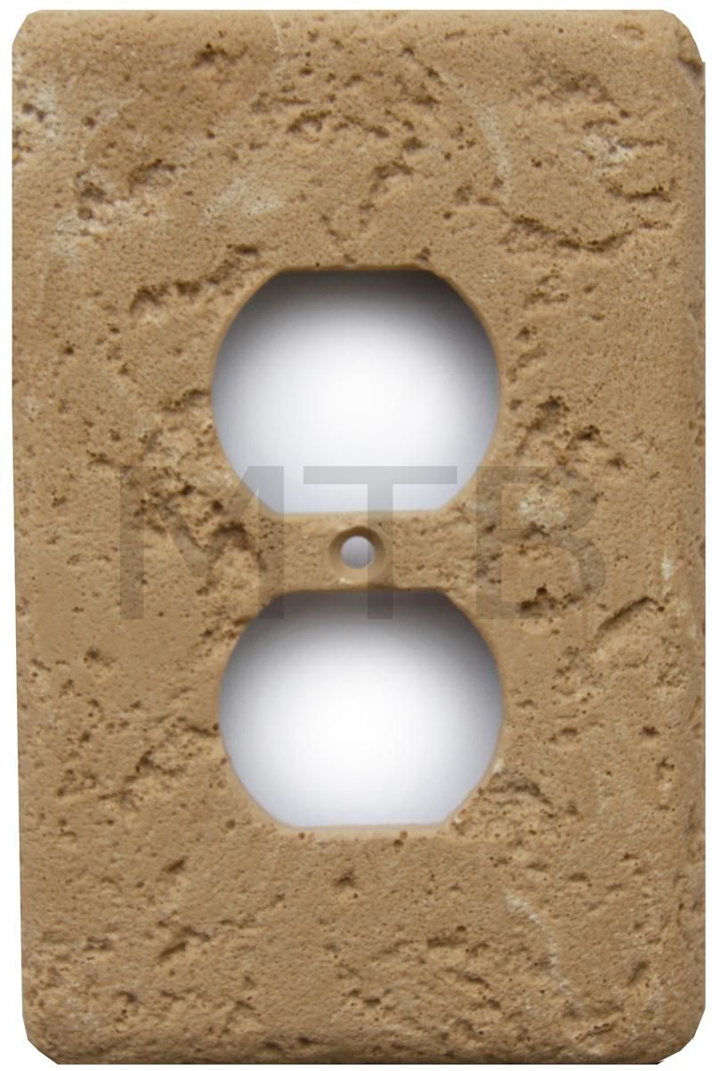 Tumbled travertine backsplash stonique cast stone switchplates tumbled travertine backsplash stonique cast stone switchplates cocoa single duplex dailygadgetfo Choice Image