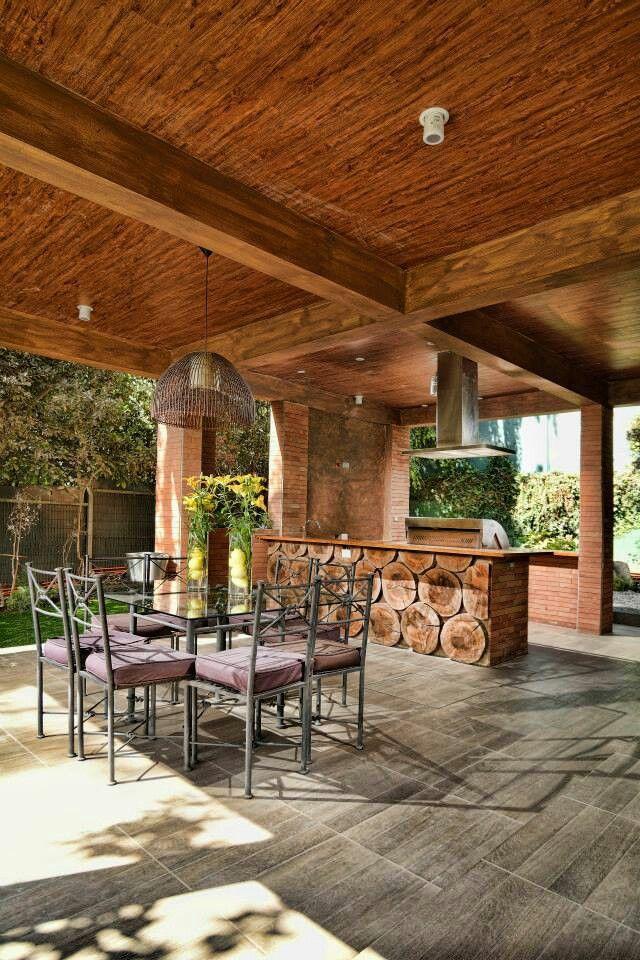 Quincho ideas casa casas de campo portafolio y quinchos for Casa minimalista con quincho