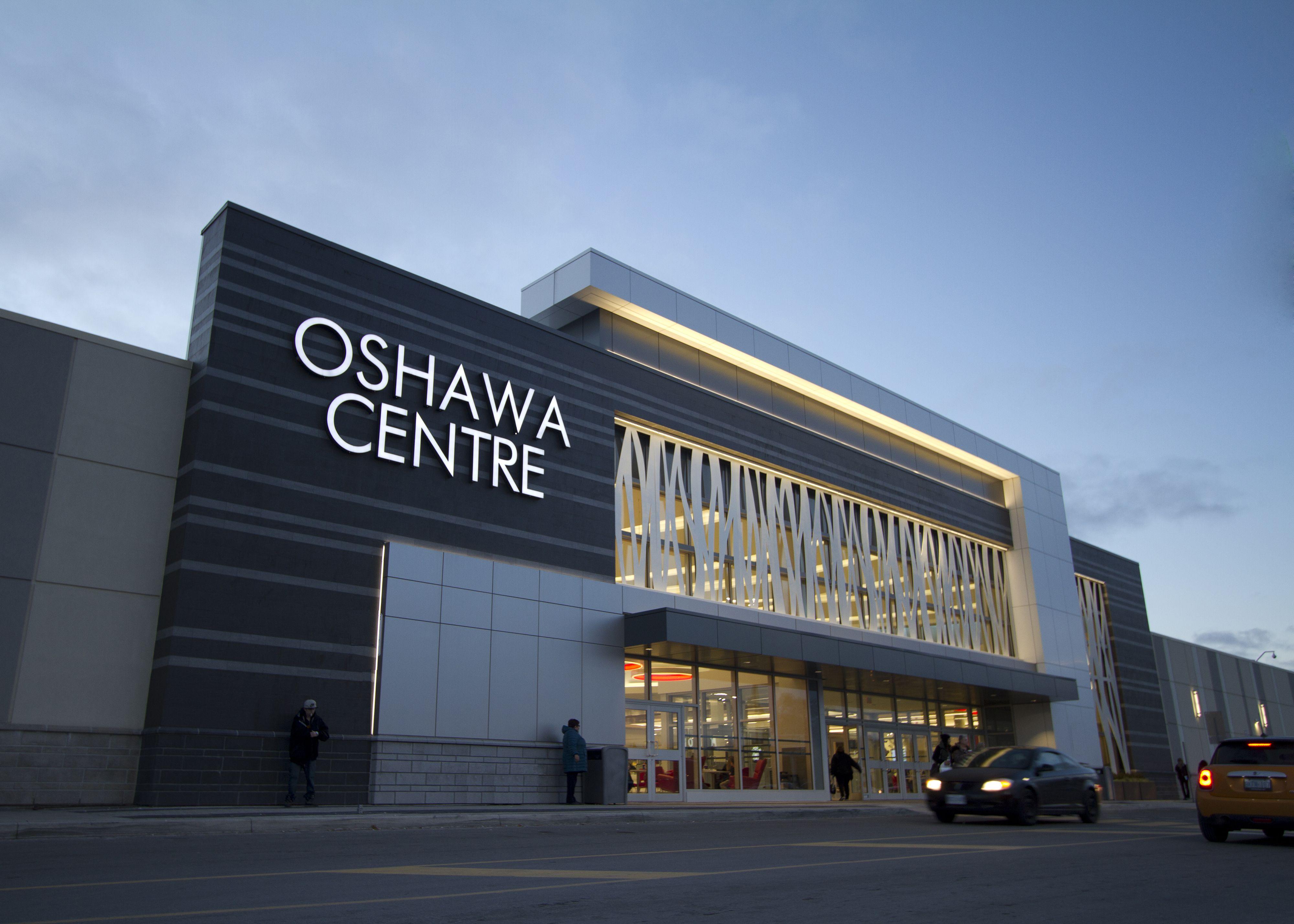 Oshawa Centre Low Rise Retail Exterior Design Retail