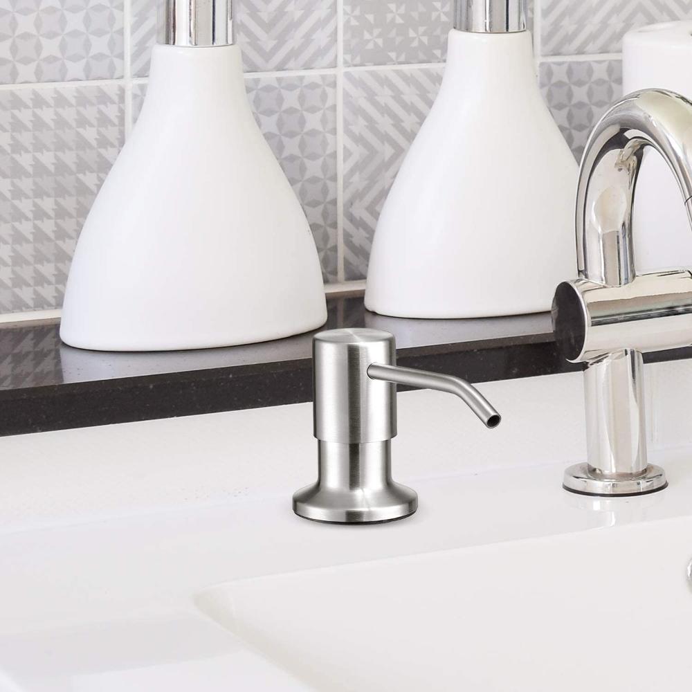 Dish Soap Dispenser For Kitchen Sink Kitchen Sink Soap Dispenser Brushed Nickel Bar Sink Soap D Dish Soap Dispenser Sink Soap Dispenser Kitchen Soap Dispenser