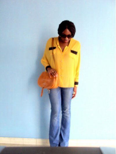 Flare Jeans: A look created by Dianekb on Fashiolista.com