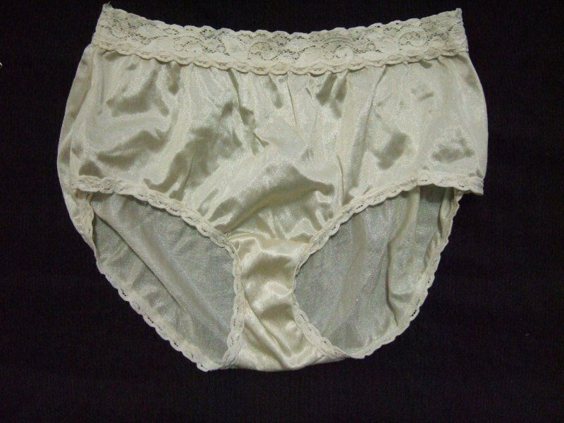 ee62eadcc76e Vtg ADONNA Satin Panties Size M Cream Colored Brief 100% Nylon #P01  #fashion #clothing #shoes #accessories #vintage #womensvintageclothing  (ebay link)